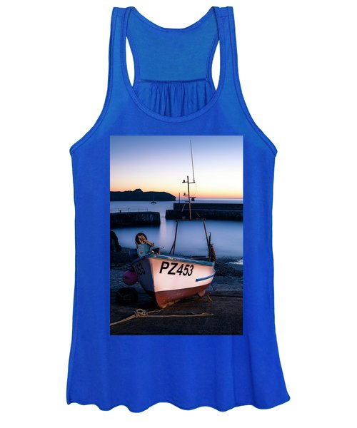 Fishing Boat In Mullion Cove Women's Tank Top