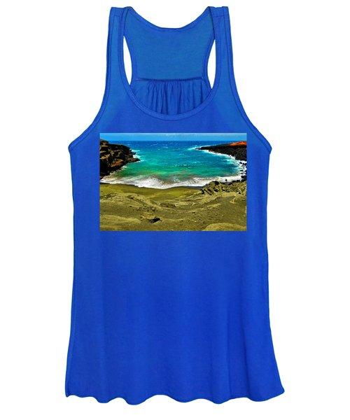 Green Sand Beach Women's Tank Top
