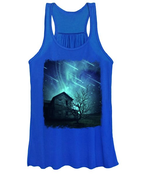 Haunted House Women's Tank Top