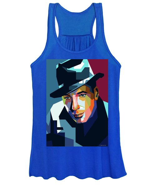 Humphrey Bogart Women's Tank Top