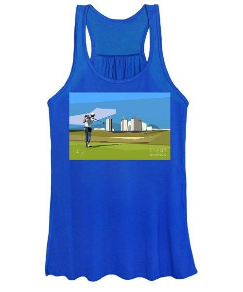 Justin Rose In Rio  Women's Tank Top