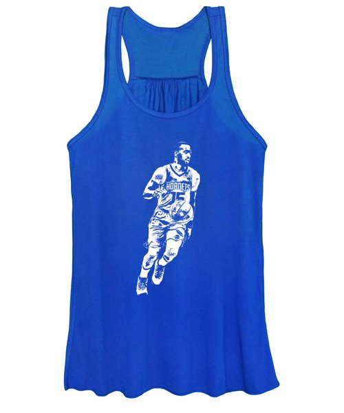 Kemba Walker Charlotte Hornets T Shirt Apparel Pixel Art 1 Women's Tank Top