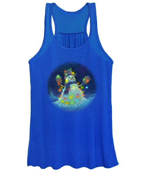Let It Glow Women's Tank Top