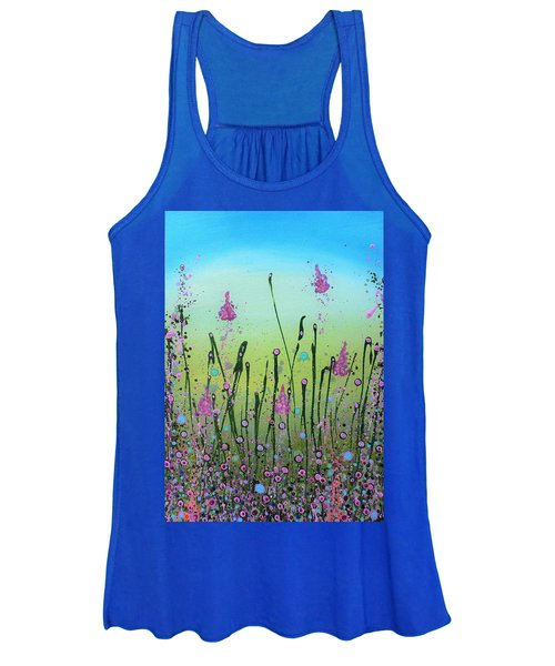 Lilacs And Bluebells Women's Tank Top