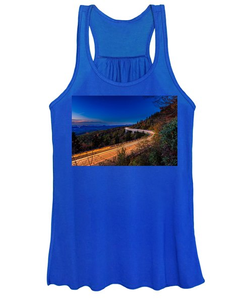 Linn Cove Viaduct - Blue Ridge Parkway Women's Tank Top