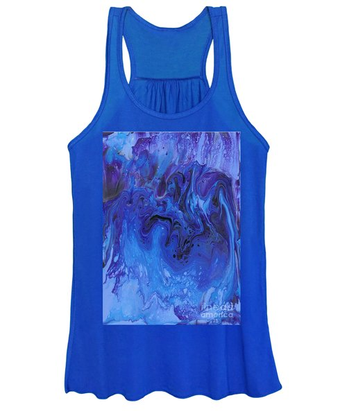 Living Water Abstract Women's Tank Top