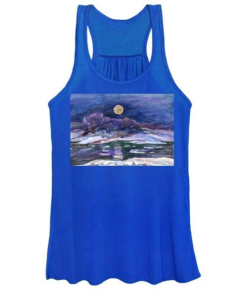 Moon Landscape Women's Tank Top
