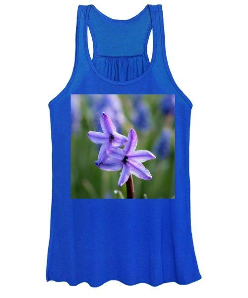 Purple Petals Women's Tank Top