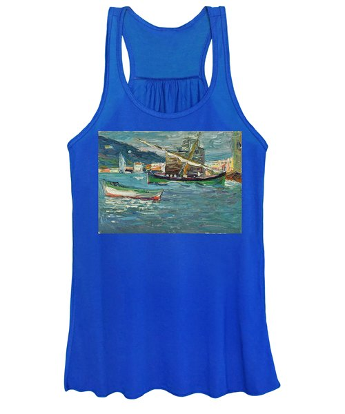 Rapallo Grey Day - Grauer Tag  Women's Tank Top