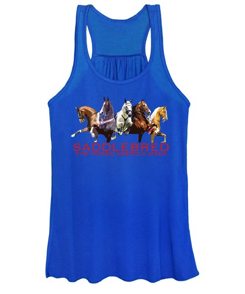 Saddlebred - The Horse America Made Women's Tank Top