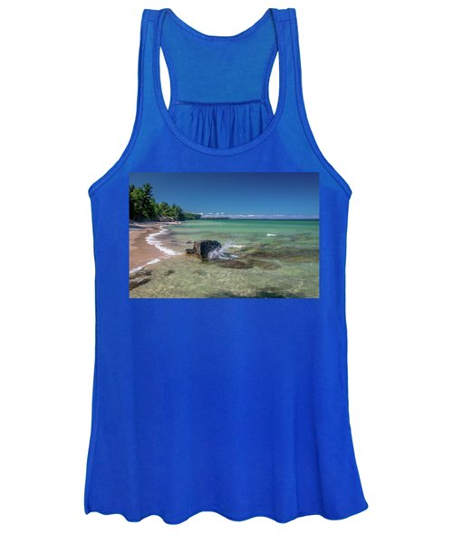Secluded Beach Women's Tank Top