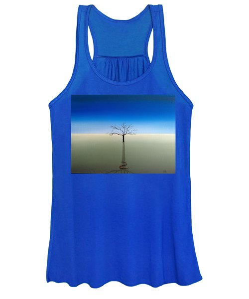 Shadow Of Asclepius Women's Tank Top