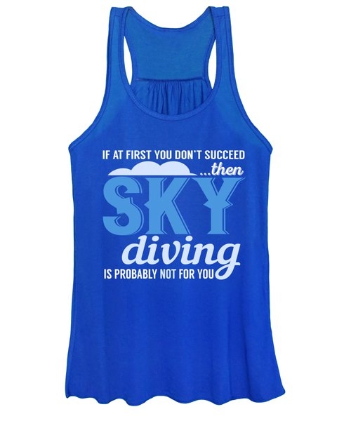 Sky Diving Women's Tank Top