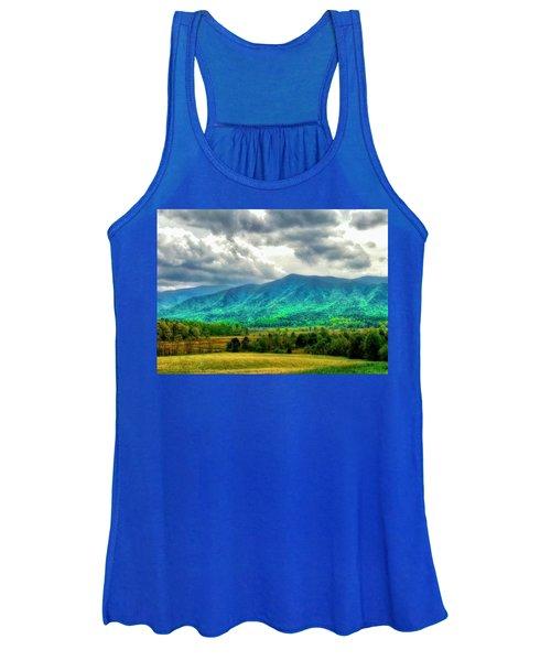 Smoky Mountain Farm Land Women's Tank Top