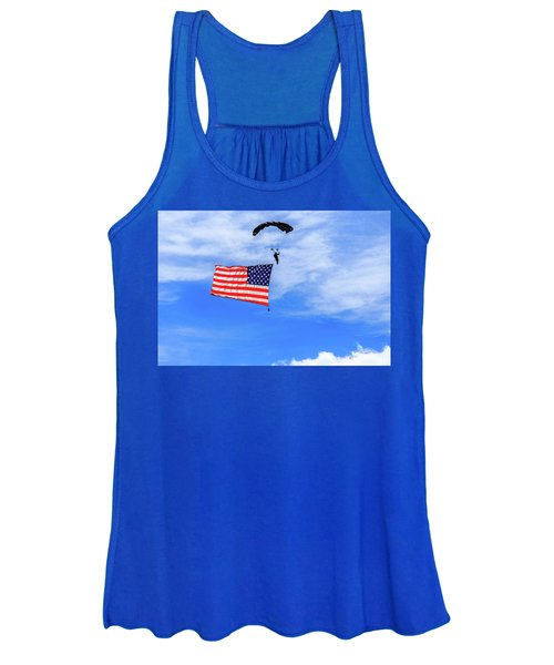 Socom Flag Jump Women's Tank Top