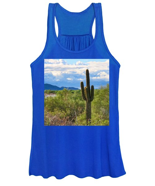 Sonoran Desert Landscape Post-monsoon Women's Tank Top