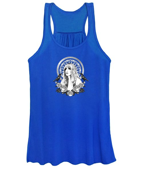 Stevie Nicks Angel Of Dreams Icon Women's Tank Top
