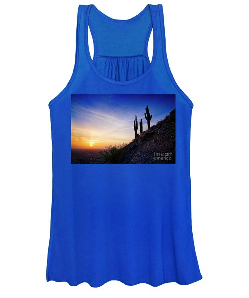 Sunset In The Desert Women's Tank Top