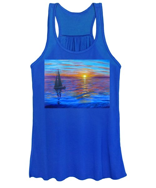 Sunset Sail Women's Tank Top