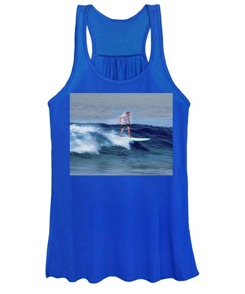 Surfing Andy Women's Tank Top