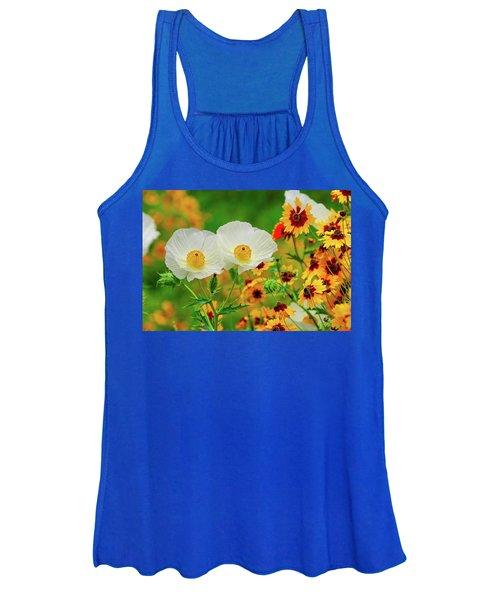 Texas Wildflowers Women's Tank Top