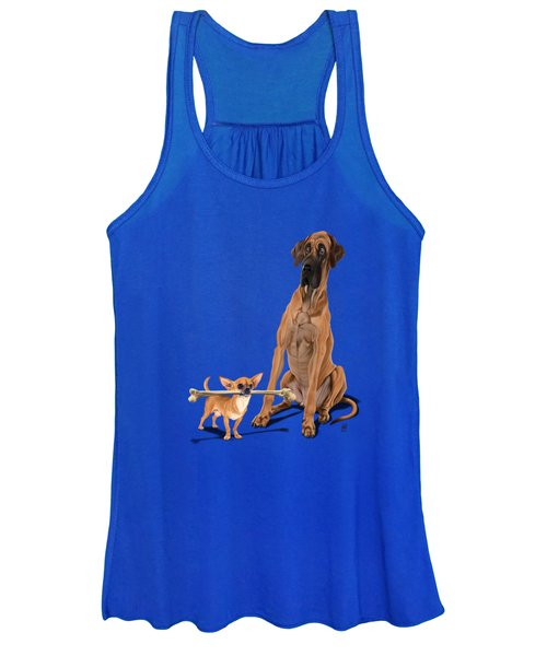 The Long And The Short And The Tall Colour Women's Tank Top