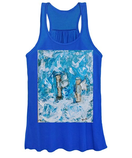 Twin Boy Angels Women's Tank Top