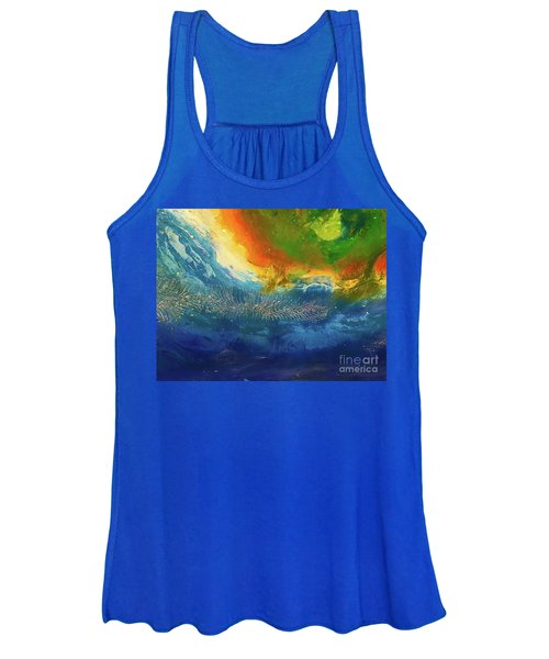View From Space Women's Tank Top