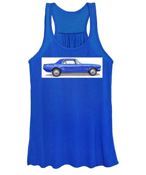 Vintage Ford Mustang - Dwp3864868 Women's Tank Top