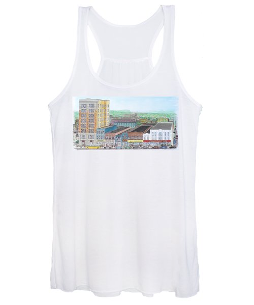 Portsmouth Ohio Dime Store Row 4th To 5th Women's Tank Top