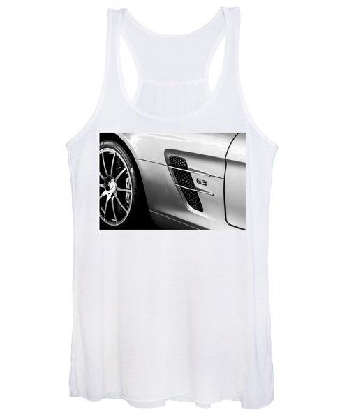 2012 Mercedes-benz Sls Gullwing Wheel Women's Tank Top