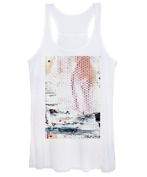 Abstract Original Artwork One Hundred Phoenixes Untitled Number Ten Women's Tank Top