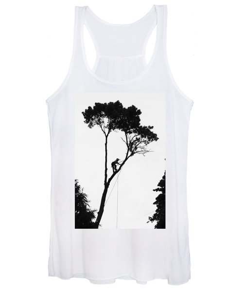 Arborist At Work Women's Tank Top