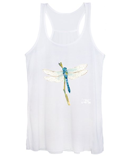 Blue Dragonfly Women's Tank Top
