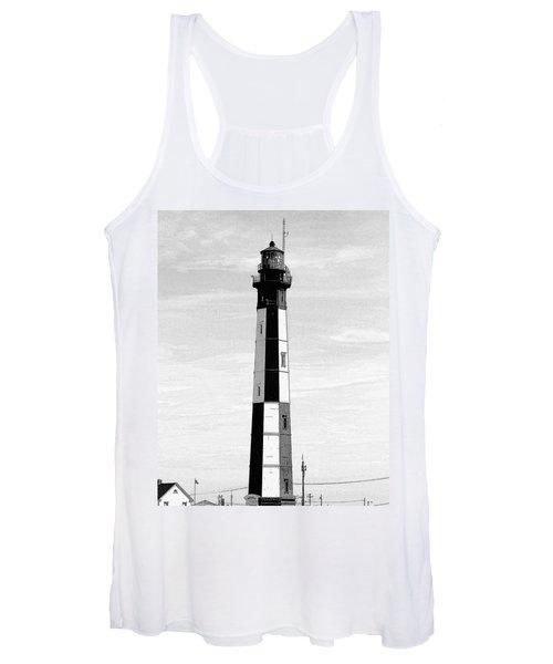 Cape Henry Lighthouse  Women's Tank Top