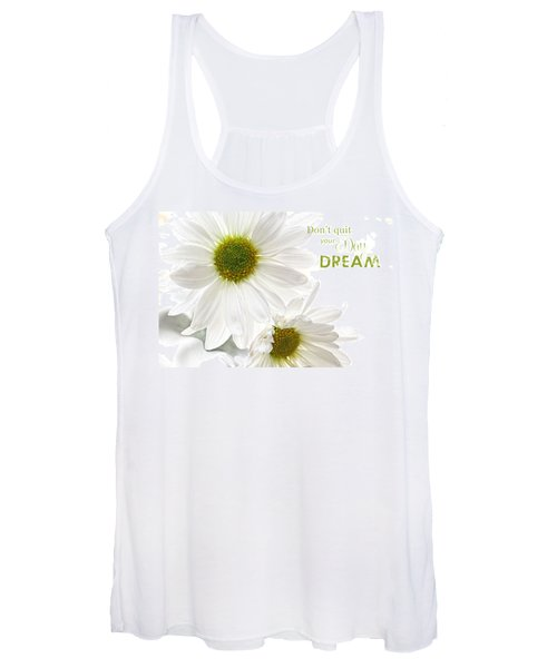 Dreams With Message Women's Tank Top