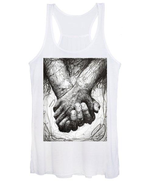 Holding Hands Women's Tank Top