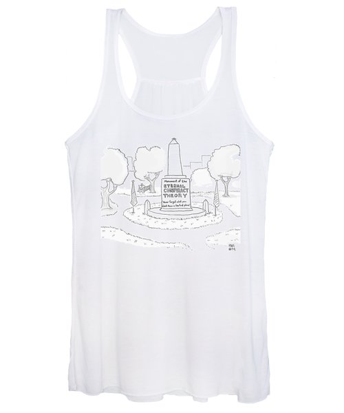 Monument Of The Eternal Conspiracy Theory Women's Tank Top