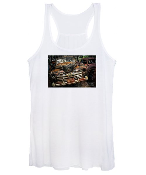 Old Rusty Ford Women's Tank Top