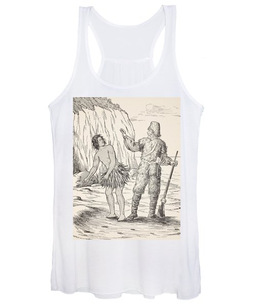 Robinson Crusoe And Friday Women's Tank Top