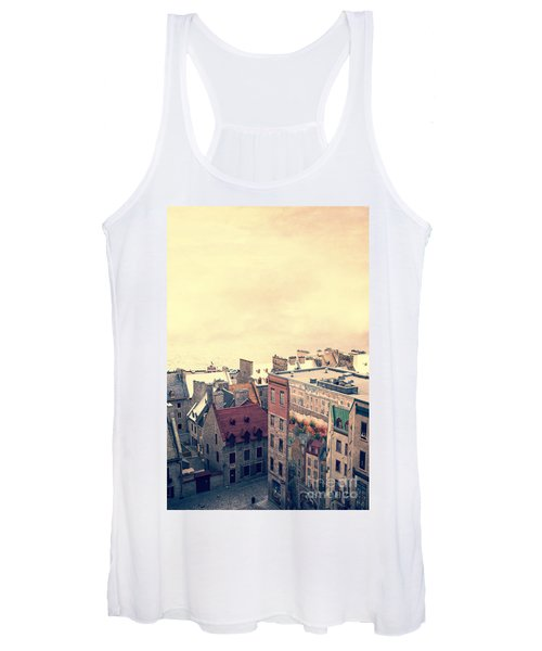 Streets Of Old Quebec City Women's Tank Top