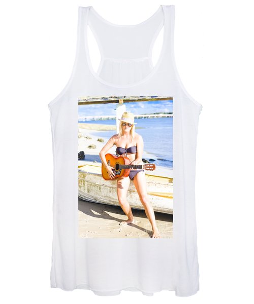 Summer Fun And Entertainment Women's Tank Top