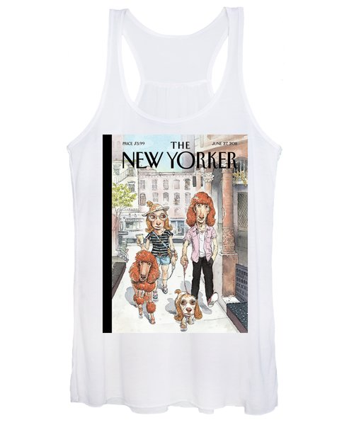 New Yorker June 27th, 2011 Women's Tank Top