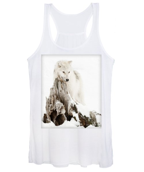 Arctic Wolf Pup Women's Tank Top