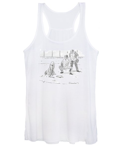 New Yorker October 10th, 2005 Women's Tank Top