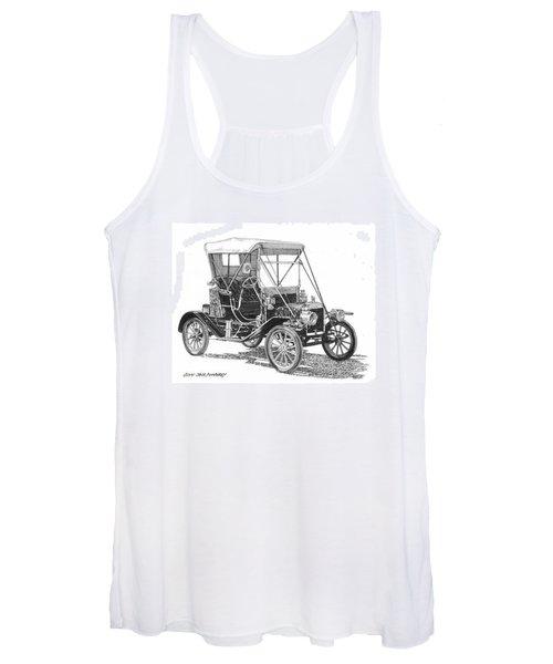 1911 Ford Model T  Women's Tank Top