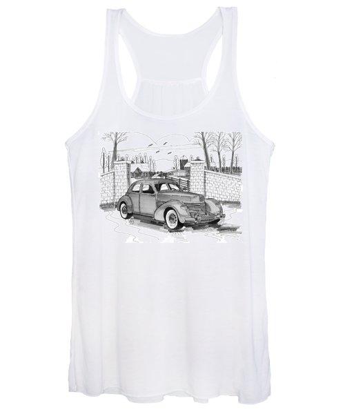 1937 Cord 812 Women's Tank Top