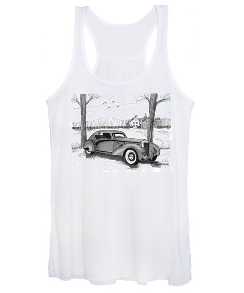 1937 Delage D8 120 Women's Tank Top