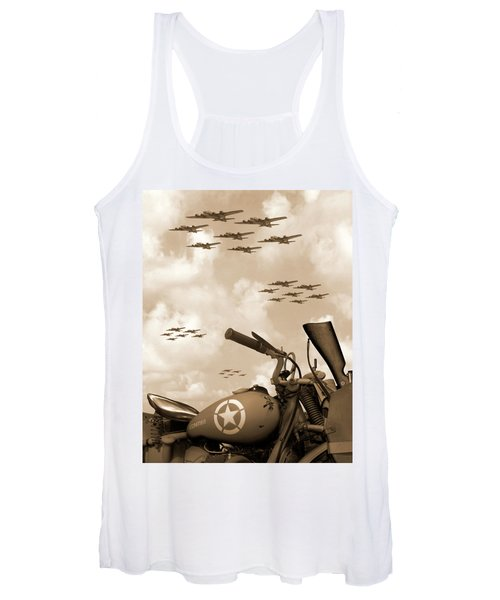 1942 Indian 841 - B-17 Flying Fortress' Women's Tank Top