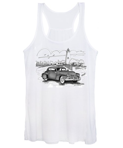 1948 Lincoln Continental Women's Tank Top